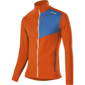 Löffler Thermo Velours Light Veste Zip Homme, carrot